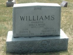 Dora E <i>Williams</i> Maule