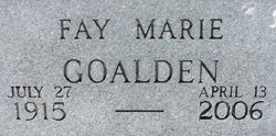 Fay Goalden
