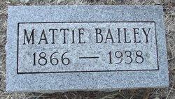 Mattie <i>Ridgeway</i> Bailey
