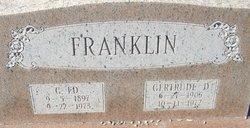 Gertrude <i>(Davis)</i> Franklin