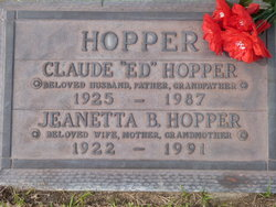 Jeanetta B. Hopper