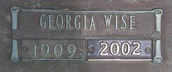 Georgia <i>Wise</i> Shetterly