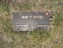 Mae P <i>Palmer</i> Baker