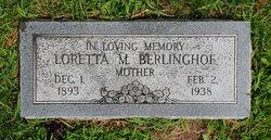 Loretta <i>Pardee</i> Berlinghof