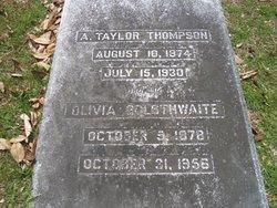 Olivia <i>Goldthwaite</i> Thompson