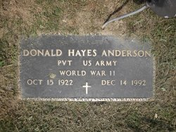 Donald Hayes Anderson