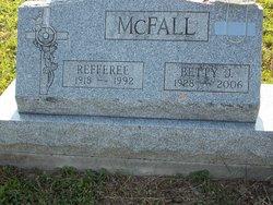 Betty J McFall