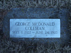 George Macdonald Coleman