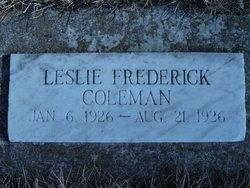 Leslie Frederick Coleman