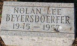 Nolan Lee Beyersdoerfer
