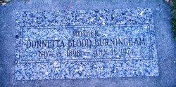 Donnetta Colemere <i>Blood</i> Burningham