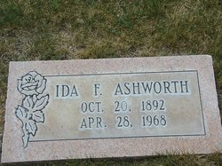 Ida Frances <i>Mathias</i> Ashworth