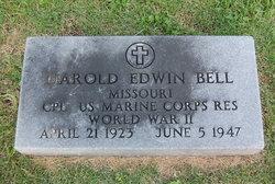 Corp Harold Edwin Bell