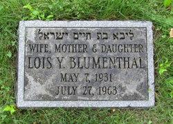 Lois <i>Yarin</i> Blumenthal