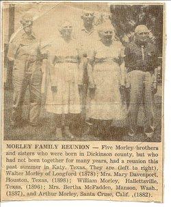 Bertha Marie <i>Morley</i> McFadden