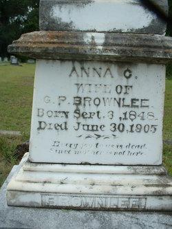 Anna Elizabeth <i>Clinkscales</i> Brownlee