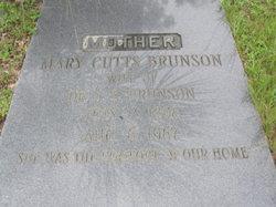 Mary <i>Cutts</i> Brunson