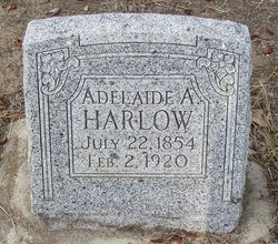 Adelaide A <i>Shoemaker</i> Harlow