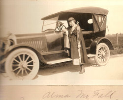 Alma Mae <i>McFall</i> King