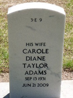 Carole Diane <i>Taylor</i> Adams