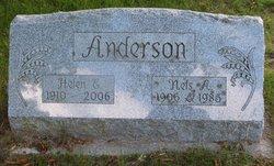 Helen E <i>Nicholson</i> Anderson