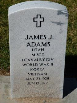 Sgt James J Adams