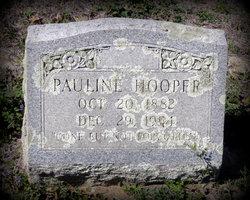 Pauline Polly <i>Clemons</i> Hooper