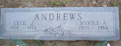 Cecil J. Andrews