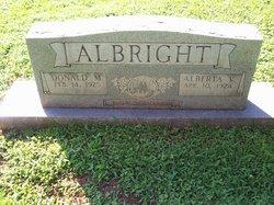 Alberta <i>Landers</i> Albright