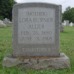 Lora Belle <i>Burner</i> Alger