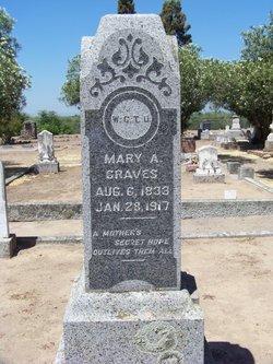 Mary A <i>Terstegge Darple</i> Graves