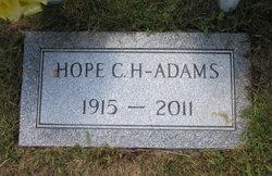 Hope <i>Clark</i> Adams