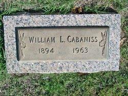 William Lacinnis Cabaniss