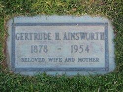 Gertrude <i>Haines</i> Ainsworth