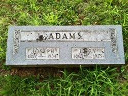 Lucy <i>Burus</i> Adams