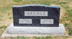 June E <i>Underwood</i> Archer