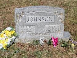Pansy M <i>Adams</i> Johnson