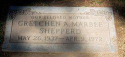 Gretchen Allene Gret <i>Ziegler</i> Marble Shepperd