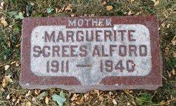 Marguerite <i>Screes</i> Alford