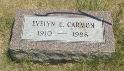 Evelyn E <i>Stonecypher</i> Carmon