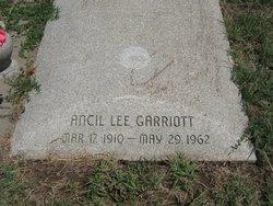 Ancil Lee Garriott