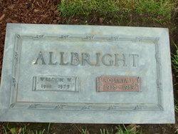 Roberta Lucille <i>Anderson</i> Allbright
