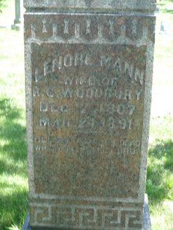 Lenore <i>Mann</i> Woodbury