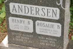 Rosalie B Andersen