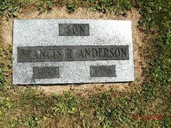 Francis R Anderson