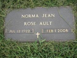 Norma Jean <i>Rose</i> Ault