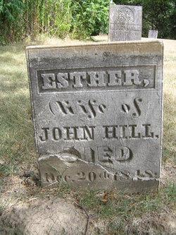 Esther <i>Adams</i> Hill