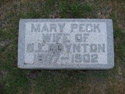 Mary <i>Peck</i> Boynton