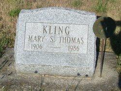 Mary S <i>Thomas</i> Kling