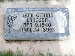 Jane Powell <i>Gittins</i> Longson